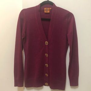 Tory Burch Button up cardigan wool